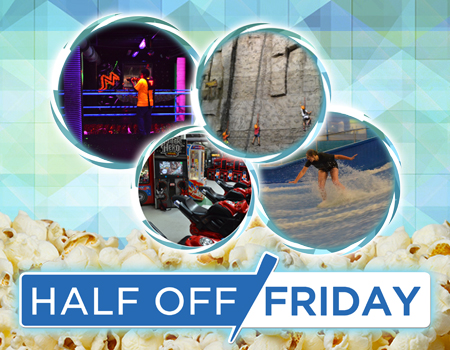 Half Off Friday!